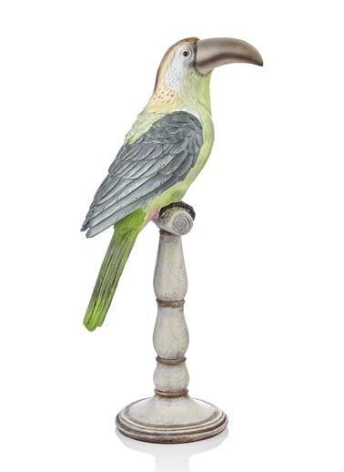 The Mia Biblo Toucan Standlı - 42 Cm  Yeşil